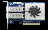 QXG-10G2SF-CX4 10GbE 網路擴充卡