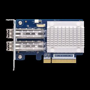 QXP-32G2FC 雙埠 32Gb 光纖通道擴充卡  ( 附SFP+ 收發器 )