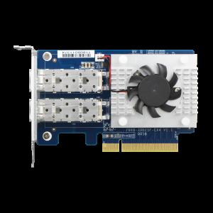 QXG-10G2SF-CX4 雙埠 10GbE 網路擴充卡